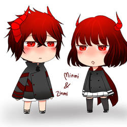 Minmi And Zinmi by SenAzkia