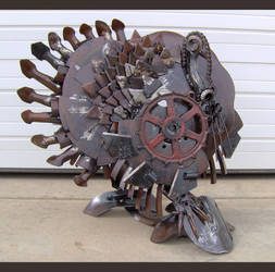 Steel Turkey by Rem-Brent