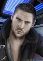 Mass Effect Shepard OC. by Saxa-XCII