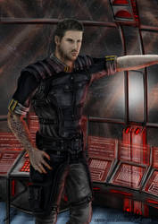 Mass Effect OC. by Saxa-XCII