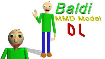 (MMD) BALDI MODEL [+DL] by BossSwagMaster