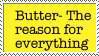 -Stamp- Butter by ZeviLoupGarou