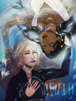Throne of Glass fanart #2 by Silviarte by silviarts