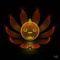 Pumpkin Lotus by Kabuchan