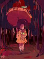 Rain of blood by KAWAiiSOLDiER667