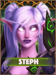 Steph Badge by Fynara