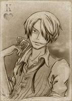 Mugiwara's_team___Sanji by RaetElgnis