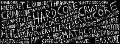 Hardcore Punk Styles Cover by Zkearlev