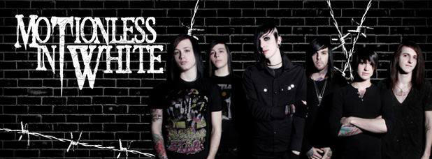 Motionless In White Group Cover by Zkearlev