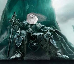 Arthas Forever Alone Meme by Zkearlev
