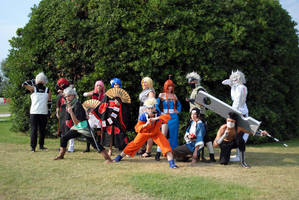naruto cosplay group by AleDiri
