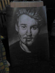 Bad Quality Johnny Depp :D by elodagus