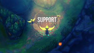 Support Wallpaper + album - League of Legends by Aynoe