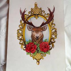 ciervo by NuriaAragon