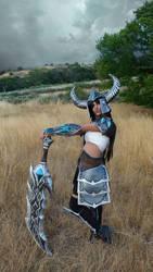 Tryndamere cosplay by NuriaAragon