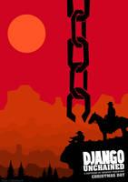 Django Unchained - Poster Minimalist by JorisLaquittant