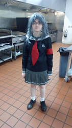 Peko Cosplay by unknownwolf1996