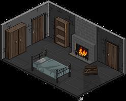 charles' room [before] by liberataryan