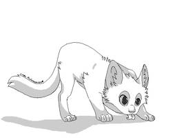 Free Kitty Lines o3o by FoxLovesMusic