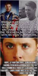 Jensen Captain America Rumor by Blood-Night-Goddess