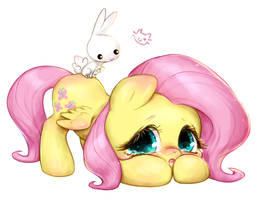 Fluttershy Chibi by CatMag