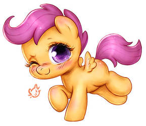 Scootaloo by CatMag