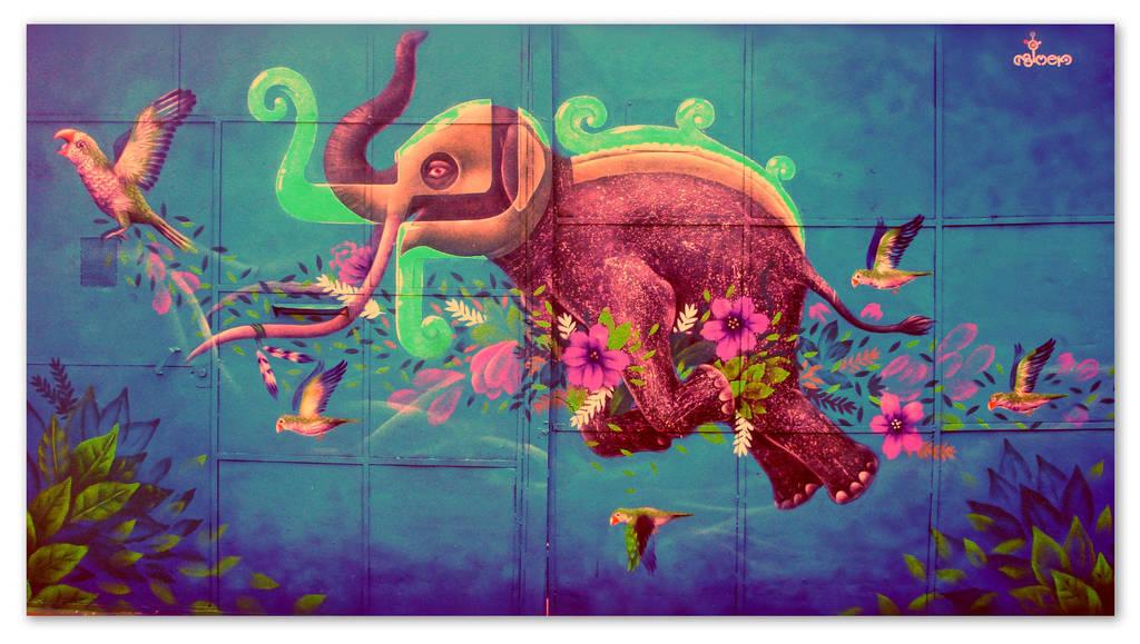 Elephant in the Wind by ArturoJCB1996