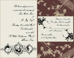Envied Wedding Invitation by somasal