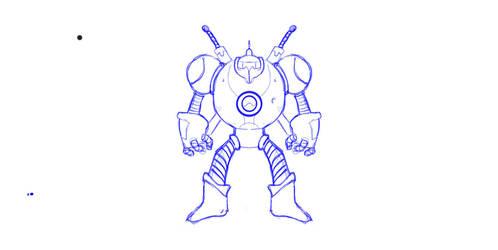 Big Bot Anime OC by GaHenM