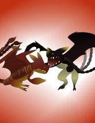 CZNZ Dragon Rider (Request) by RedHoodJason7