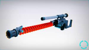 Gauss Sniper Rifle by Frostuin