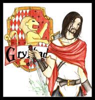 Godric Gryffindor by raphi-kun