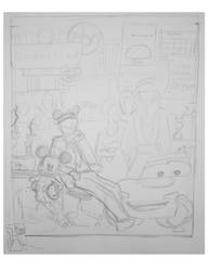 Untitled Preliminary Sketch by bluefootedpenguin