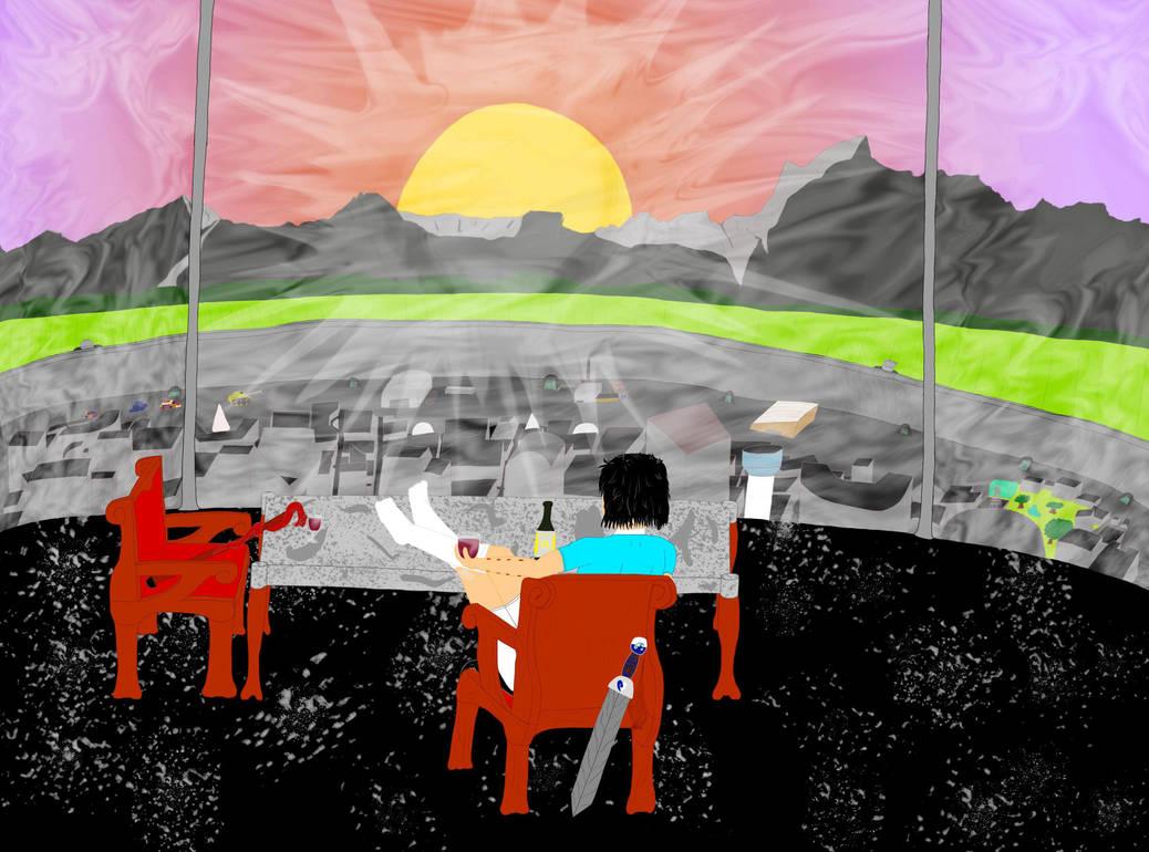 Zoey's Sunset (Probably final) by Haleyzen