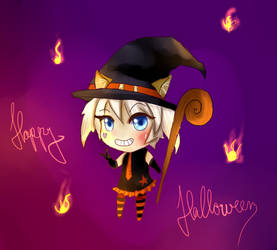 Happy Halloween by HatsuneMimi