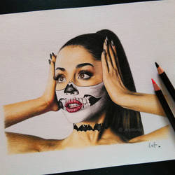 Ariana Grande Halloween by kreativityart