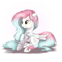 Great Pony Art Trade - Silver by Bratzoid