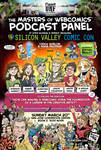MastersofWebcomics SVCCPanel March2016 Flyer Color by ChuckWhelon