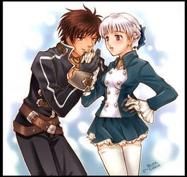 shadow hearts Yuri and Alice by chicharon