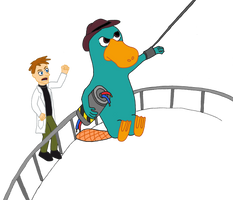 Daily 2011-6-20 Agent P by Marscaleb