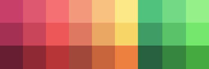 Jungle color palette 02 by zilleruelo