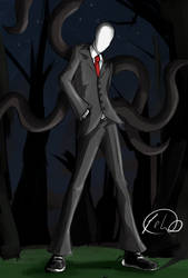 Slenderman by P-lao