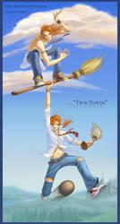 Twin Power XD by Natsuki-3