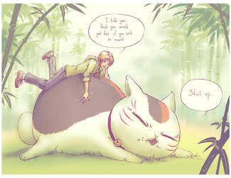 Sensei, you are drunk and fat by Natsuki-3