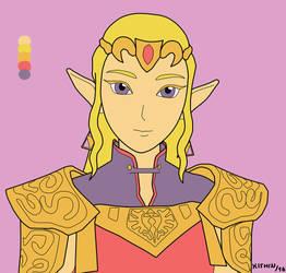 [Ocarina of Time] Princess Zelda by KishinRinku