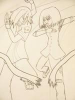Collab .:Nessa-Monoriko:. by neodragon115
