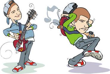Guitar hero by juliaojr