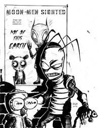 Moon Man Zim by fetorpse