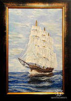 Sailing vessel by Haikas