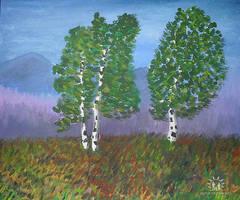 Birches by Haikas